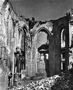 St. John`s Archcathedral in 1945